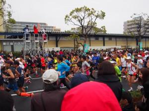 吉川ハーフマラソン、スタートです。