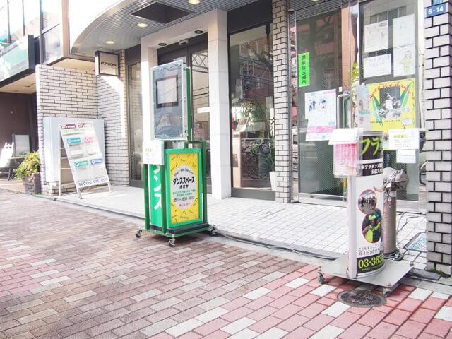 菊川スタジオ玄関